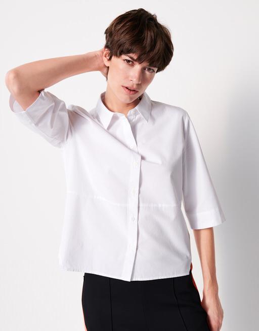 Overhemdblouse Zabelke white