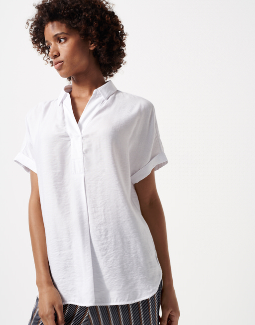 Oversize Bluse Zanari white