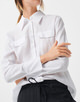 Hemdbluse Zinka white