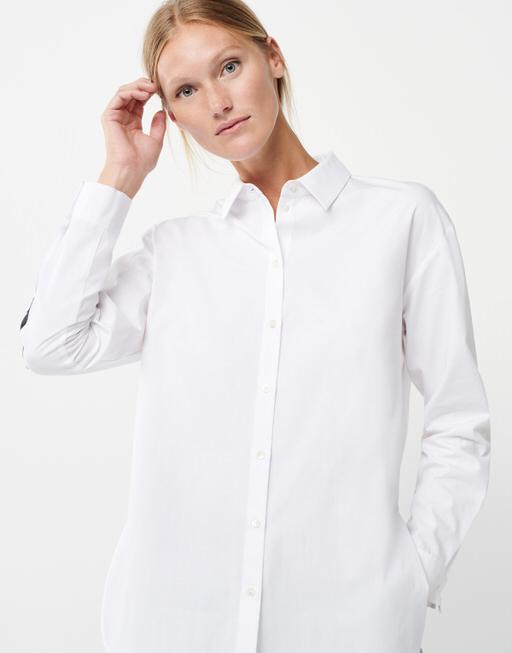 Hemdbluse Zelina white