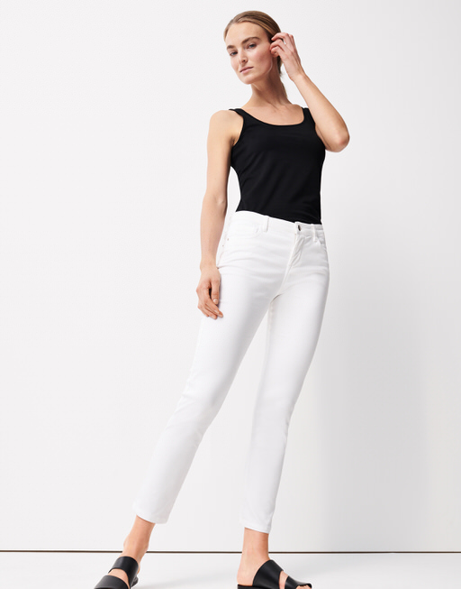 Skinny Cadou white