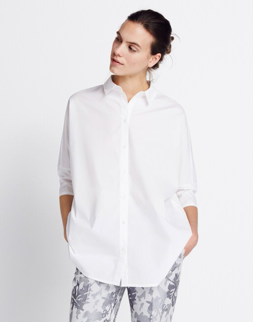 oversized witte blouse dames