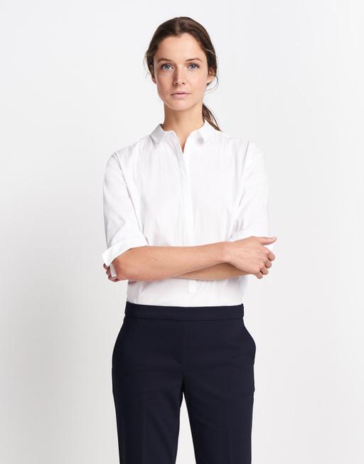 Bluse Zusa 3/4 white