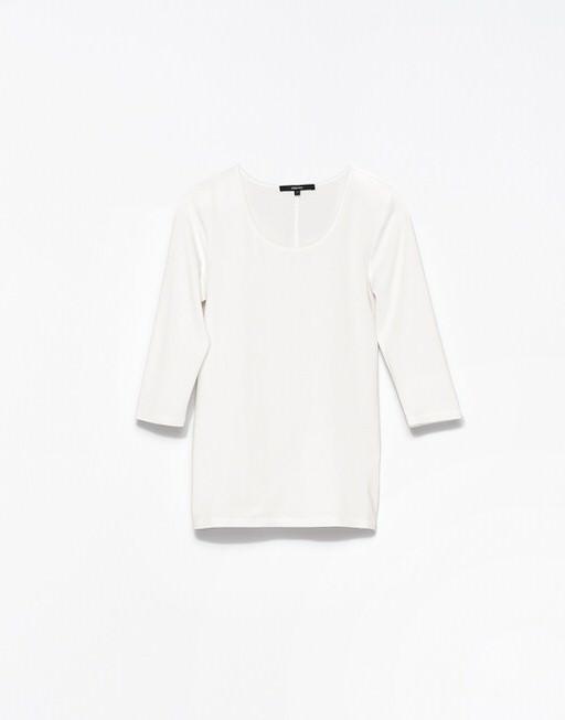 T-Shirt Kain milk