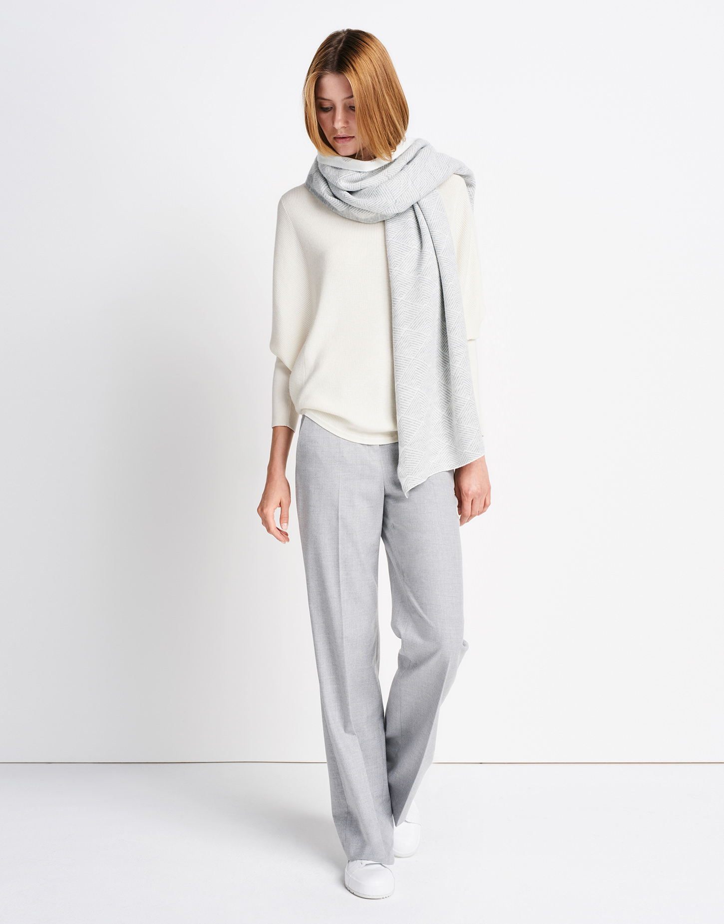 schal brooklyn scarf wei online bestellen someday online shop. Black Bedroom Furniture Sets. Home Design Ideas