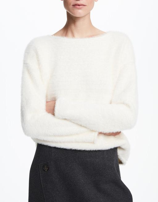Sweatshirt Ulawie  oyster