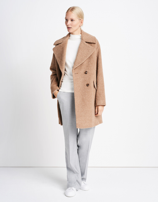 more photos 85a09 d7f40 Oversized coat Vienna brown by someday | shop your ...