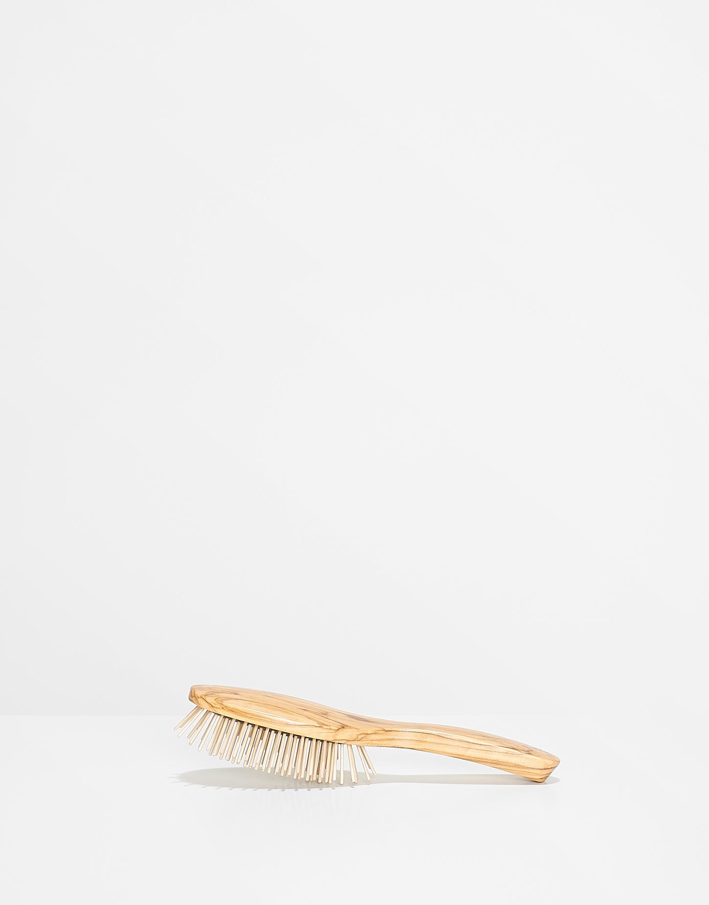 Deko luxus haarb rste holz beige online bestellen for Luxus deko