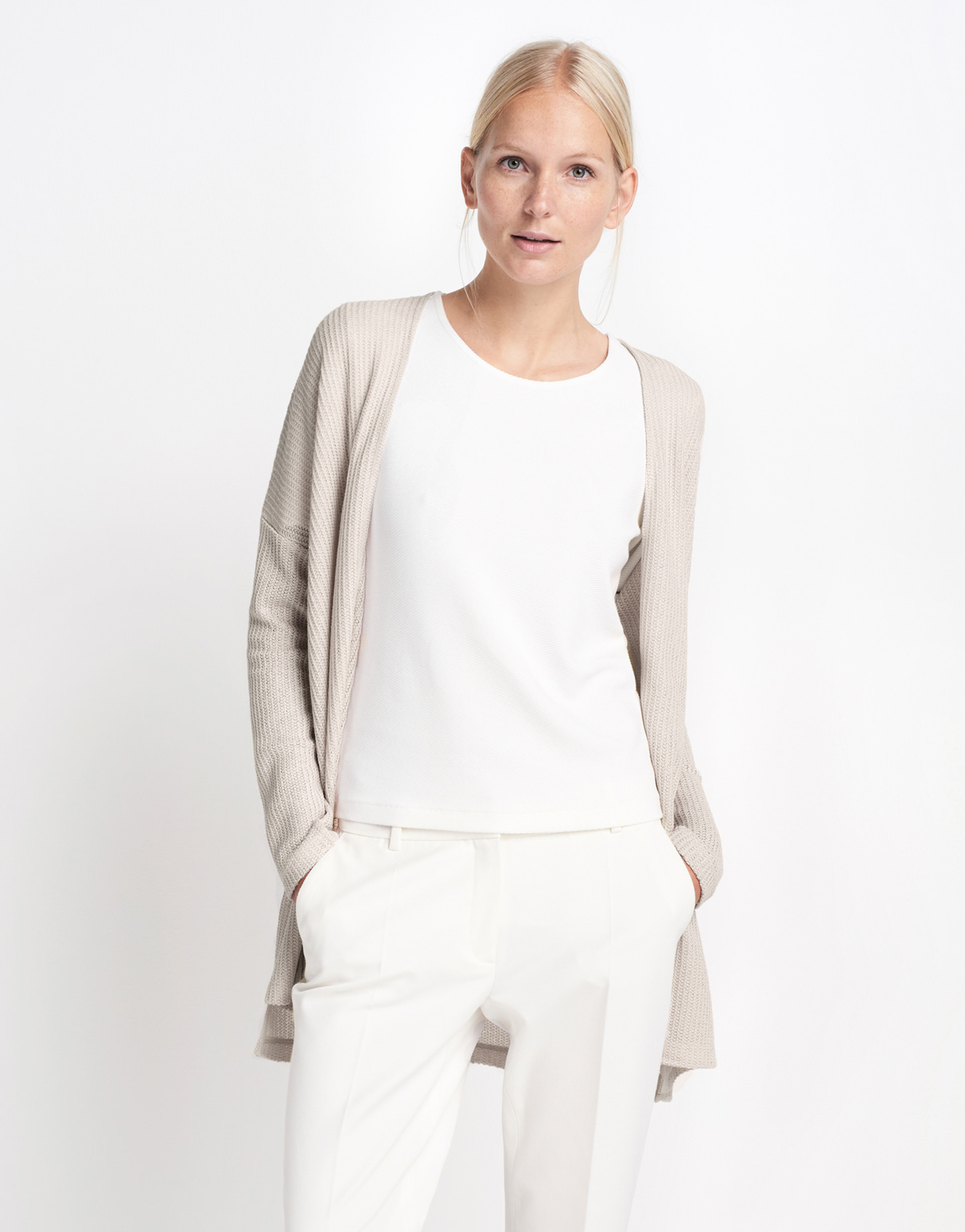 6a61154a7e9c70 Sweat cardigan Uhamsi beige by someday | shop your favourites online