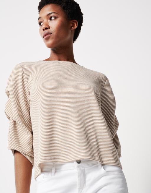 T-shirt Kasonda natural sand