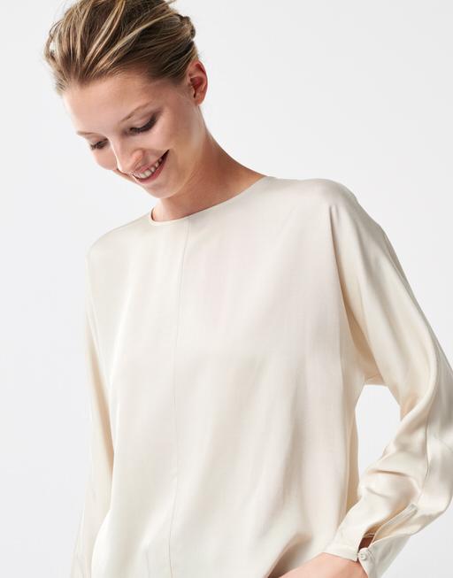 Shirtbluse Zizan ivory