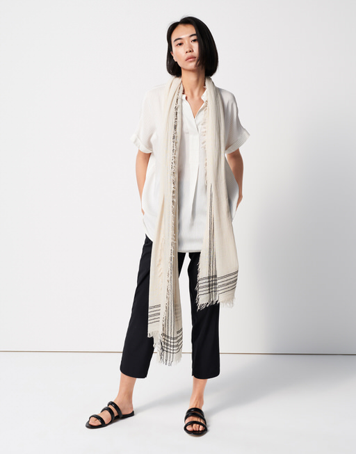 Schal Barko scarf ivory