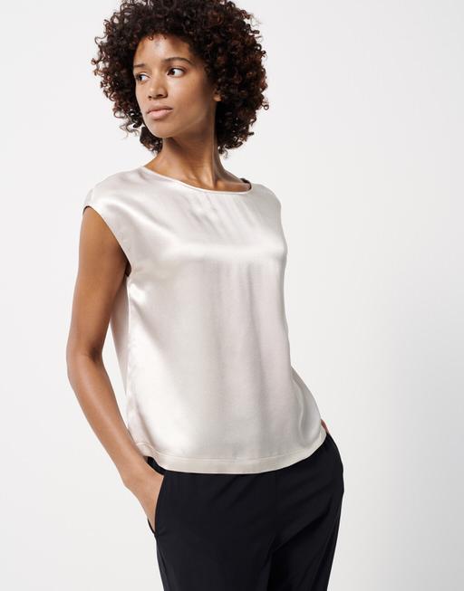 Shirt blouse Zloria ivory