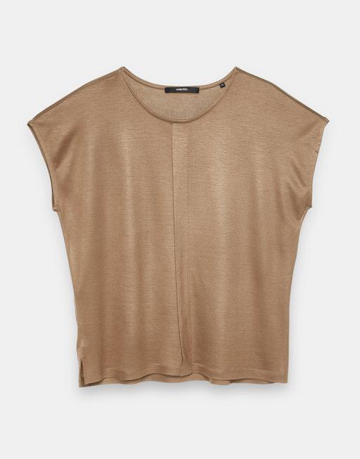 T-Shirt Kusana golden caramel