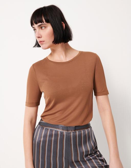 T-Shirt Kea golden caramel