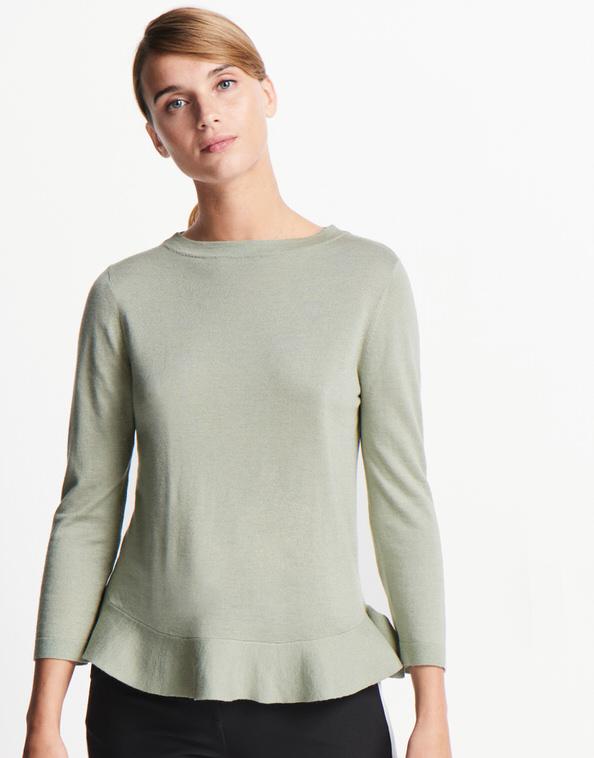 newest 81351 04f09 Feinstrickpullover Tessly grün online bestellen   someday ...