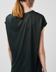 T-shirt Kori geometric  dark jade