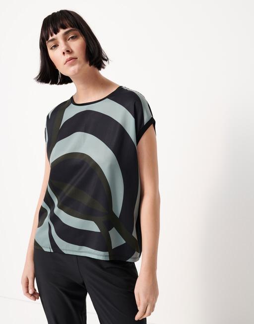 Shirt met print Kori ethno mystic forest