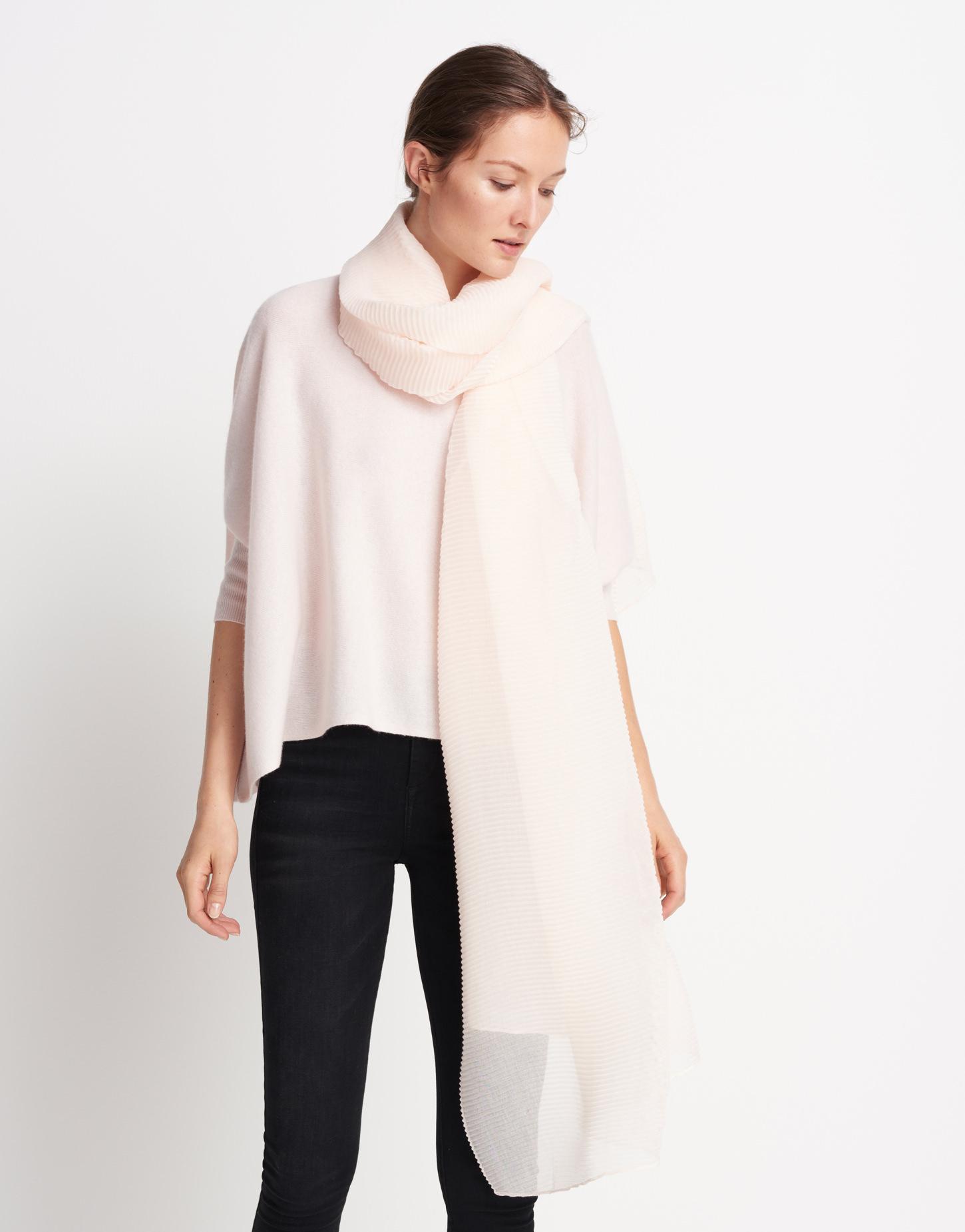 schal bezai scarf ros online bestellen someday online shop. Black Bedroom Furniture Sets. Home Design Ideas