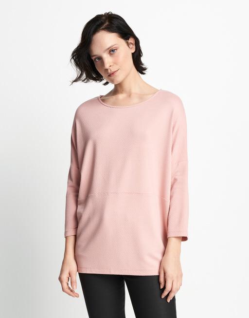 Boxy Shirt Kamill pale blush