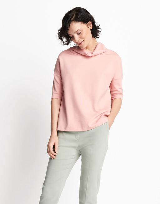 Boxy-Shirt Udine  pale blush