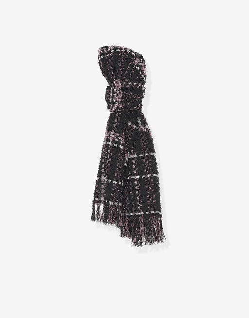 Strickschal Bintoni scarf smooth berry