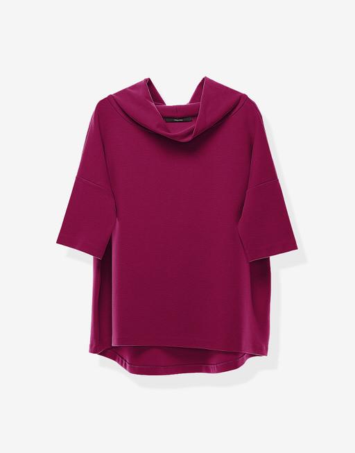 Boxy-Shirt Udine  wild pink