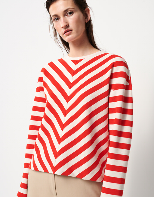 Sweater Ubangi riot red