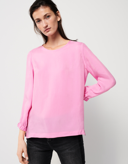 Shirtbluse Zielfy flamingo