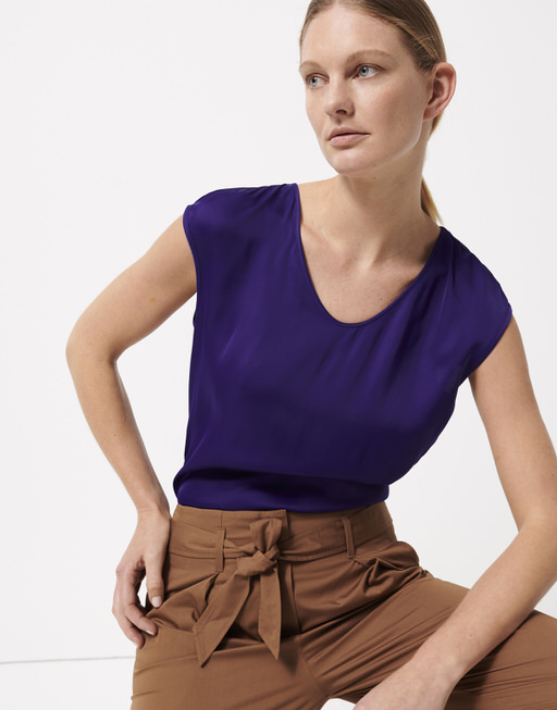 Shirtbluse Zadira vivid violet