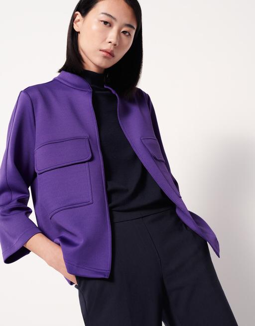 Blazer Jacke Nacla vivid violet