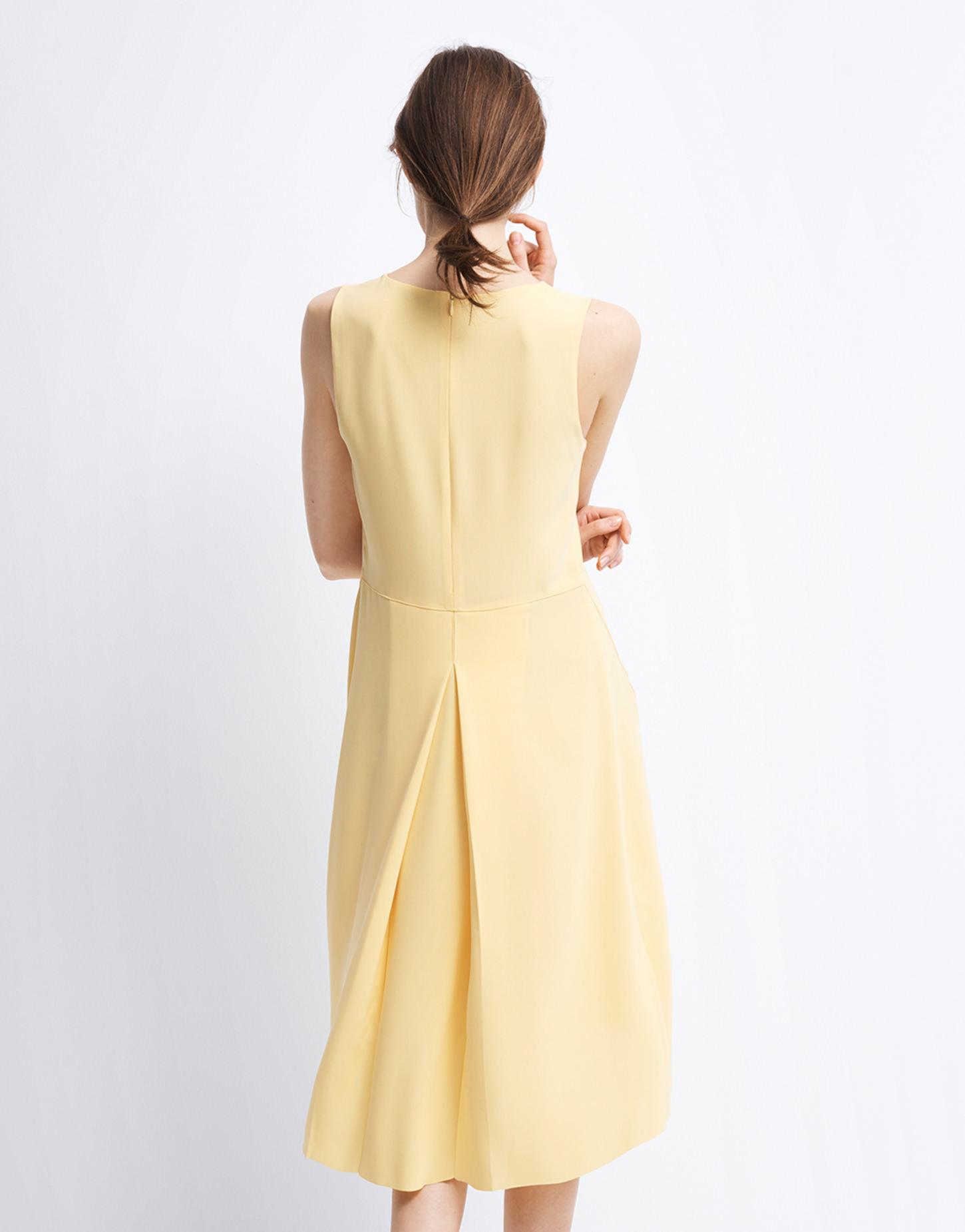 Kleid Qitje gelb online bestellen | someday Online Shop