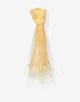 Tuch Bansba scarf amber