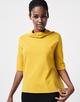 Boxy-Shirt Udine BD mute mustard