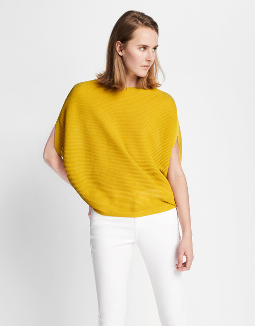 Knitted Top Tulina mute mustard