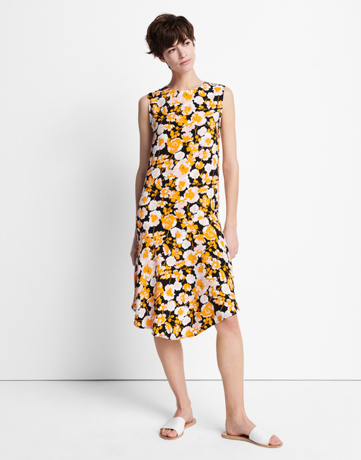 print dress Qualissa mango