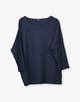 Boxy Shirt Kamill reliable blue