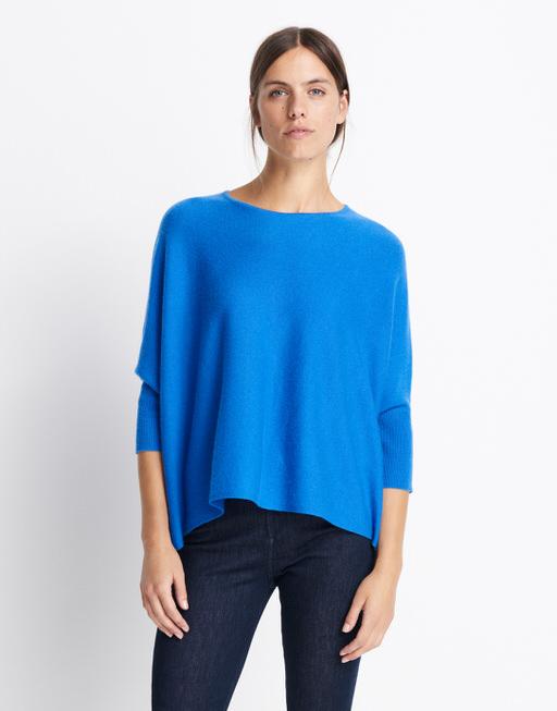 Oversize Pullover Tjelva cosy blue iris