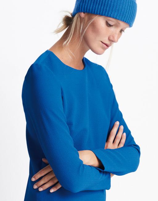 Strickmütze Binny cap blue iris