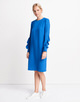 Kleid Quasti blue iris