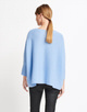 Oversize Pullover Tjelva cosy blue bell