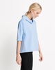 Boxy-Shirt Udine blue bell