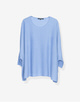 Oversize Pullover Tjelva cosy endless blue