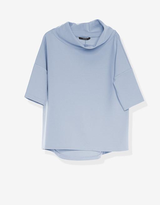 Boxy-Shirt Udine  endless blue