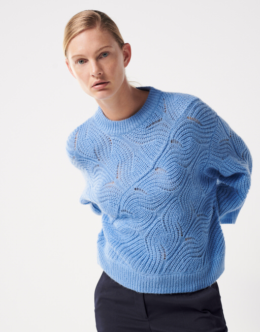 Strickpullover Tascha dynamic endless blue