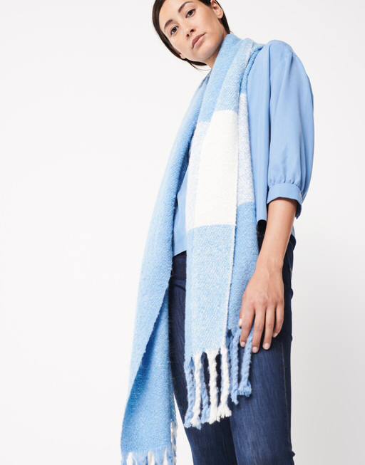 Schal Balian scarf endless blue