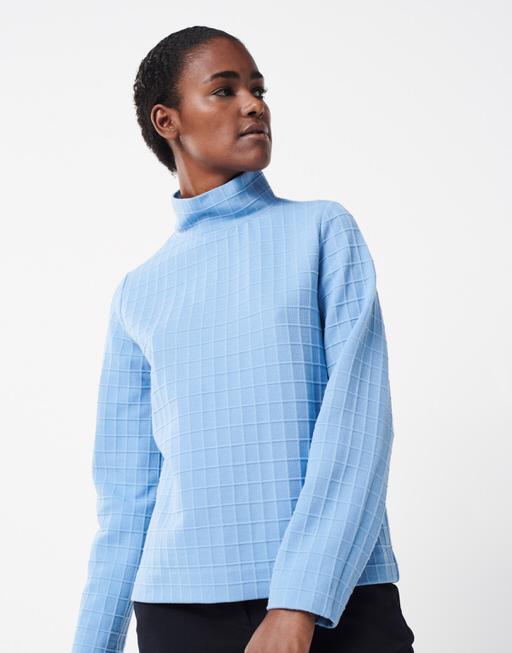 Boxy-Shirt Uriya endless blue