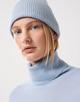 Strickmütze Bea cap blue illusion