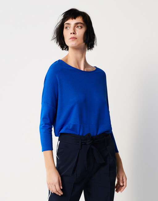 Boxy Shirt Kamill contemporary blue