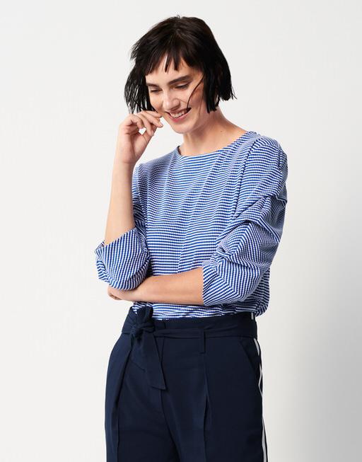T-Shirt Kasonda contemporary blue